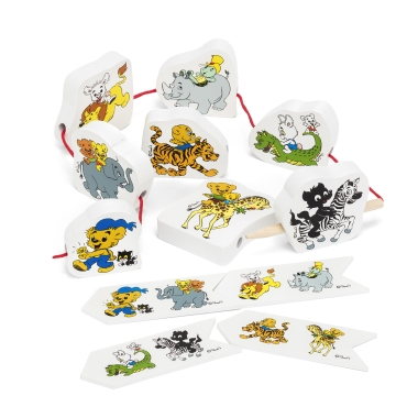 BAMSE STRING PUZZLE ANIMALS