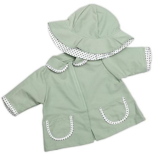 Skrållan regnjacka & hatt