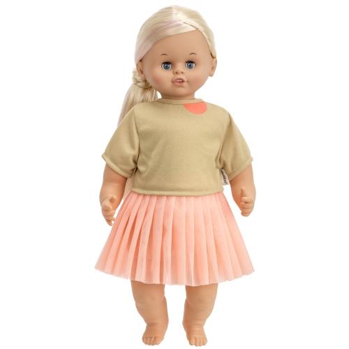 Skrållan docka ljust hår 45 cm