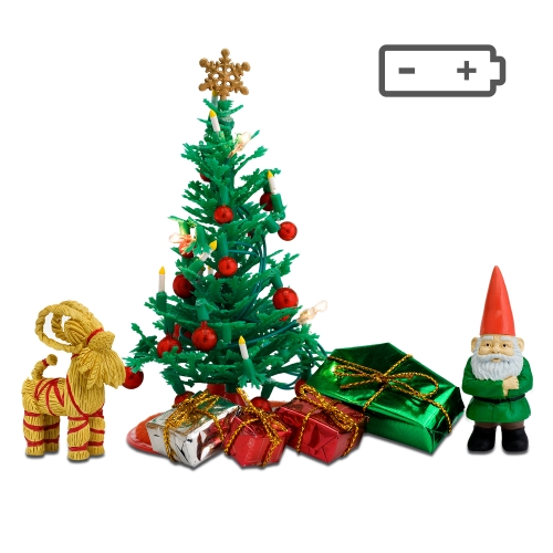 Lundby julgransset batteri