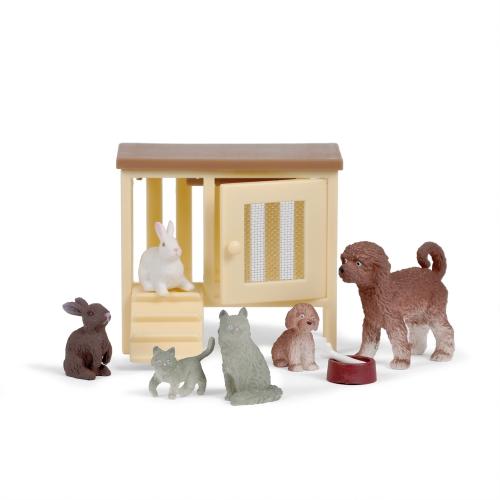Lundby husdjurs set