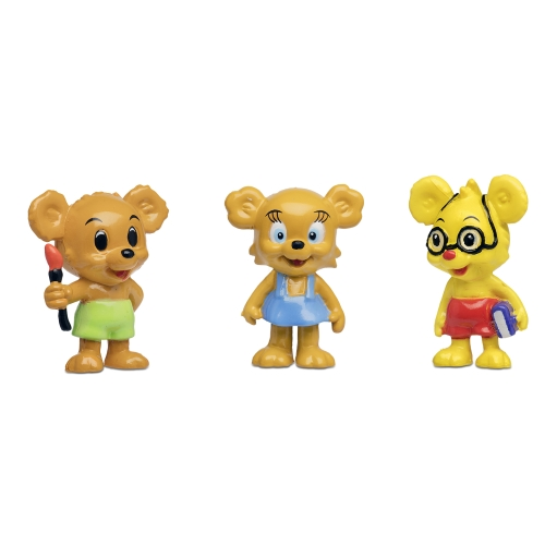 Nalle-maja,brum&teddy figurset