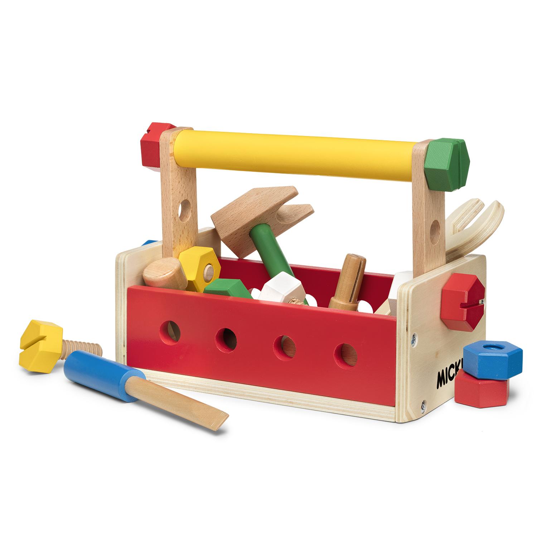 Micki verktygslåda bygg lek  e83fa5afb27c7
