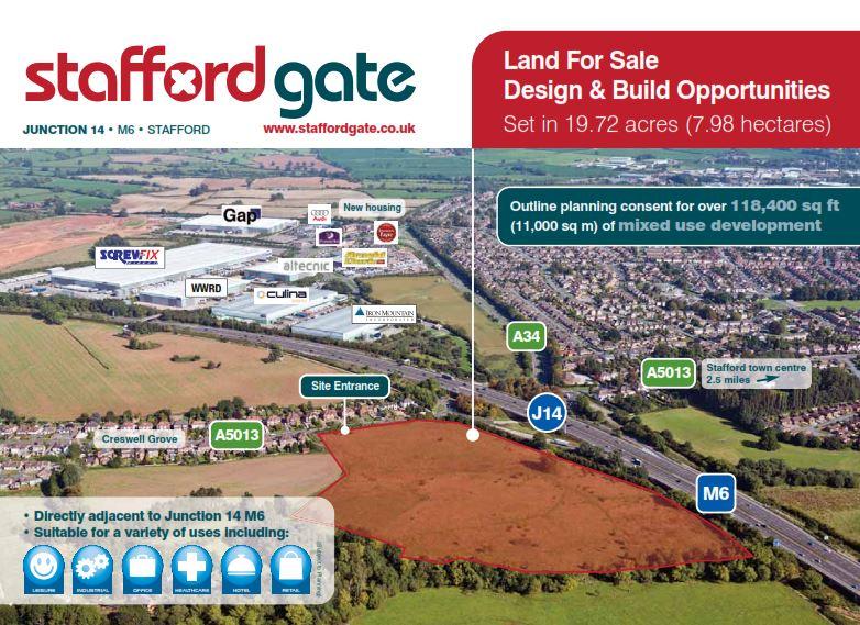 Industrial Stafford, ST18 9QP - Stafford Gate