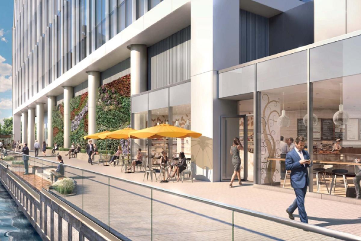 Office London, E14 4BG - 5 Bank Street