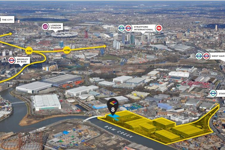 Industrial London, E16 4ES - Unit 8 Electra Business Park