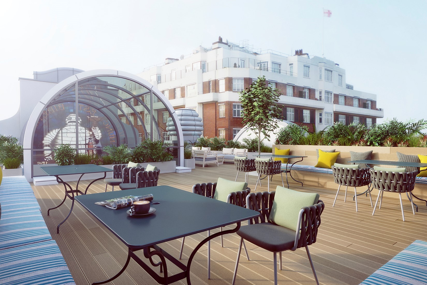 Serviced office London, SW3 6RD - Michelin House, Fulham