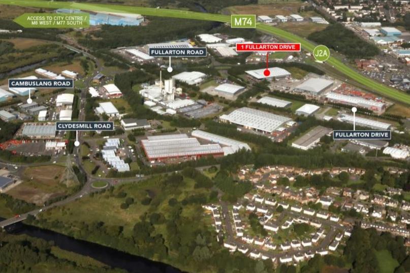 Industrial Glasgow, G32 8FD - 1 Fullarton Drive