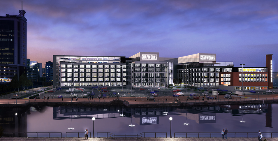 Office Salford quays, M5 3LZ - Soapworks