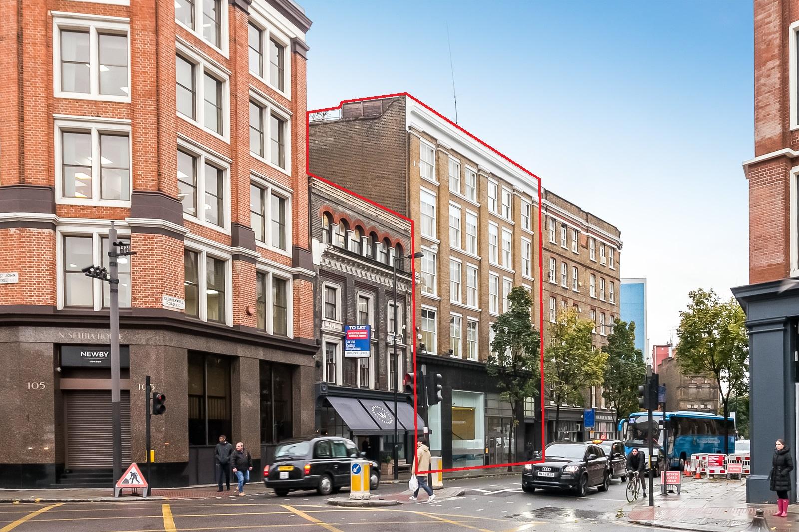 Office London, EC1M 5RN - 29 Clerkenwell Road