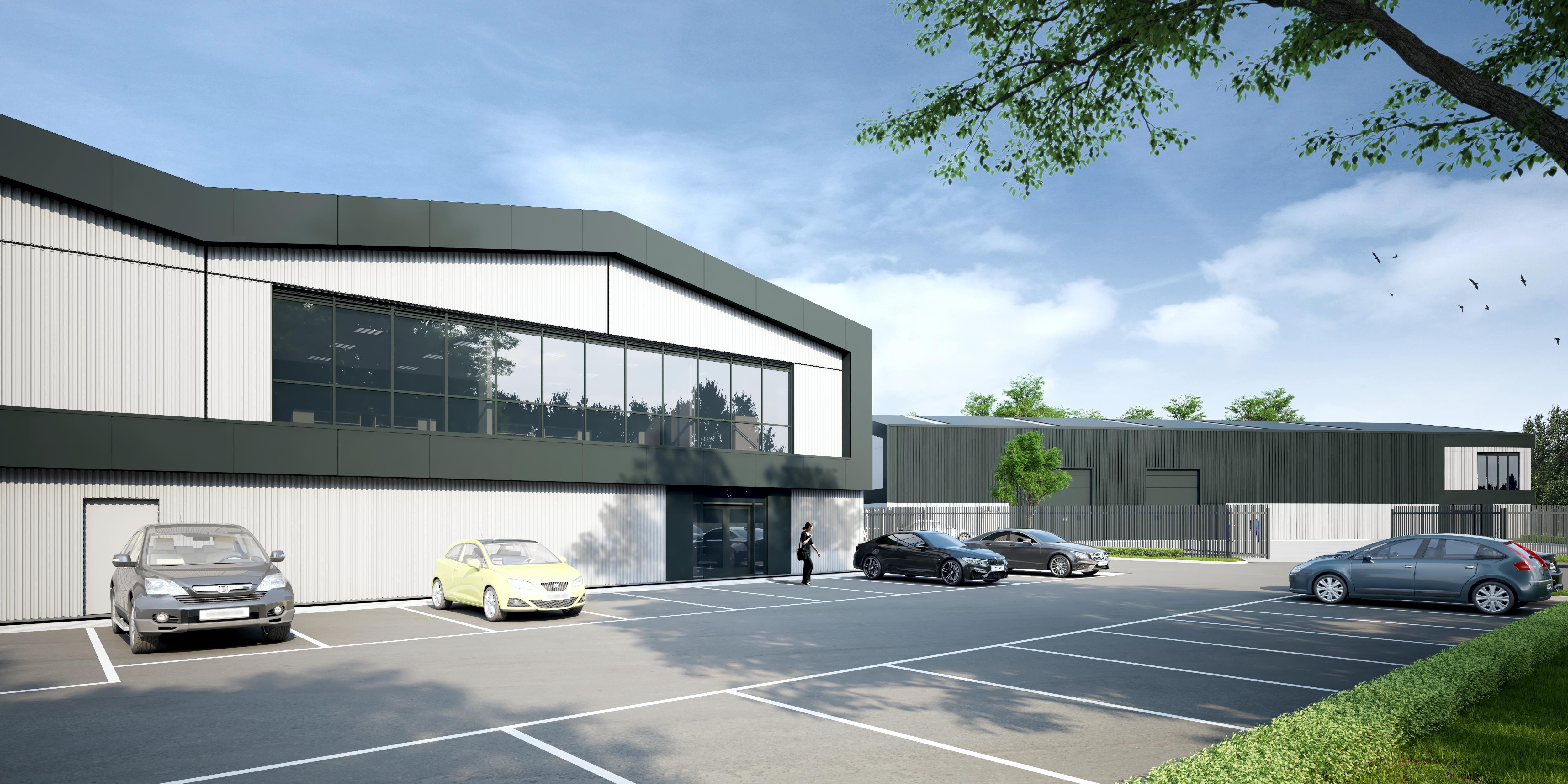 Industrial Manchester, M31 4DJ - Carrington Gateway - Unit 1