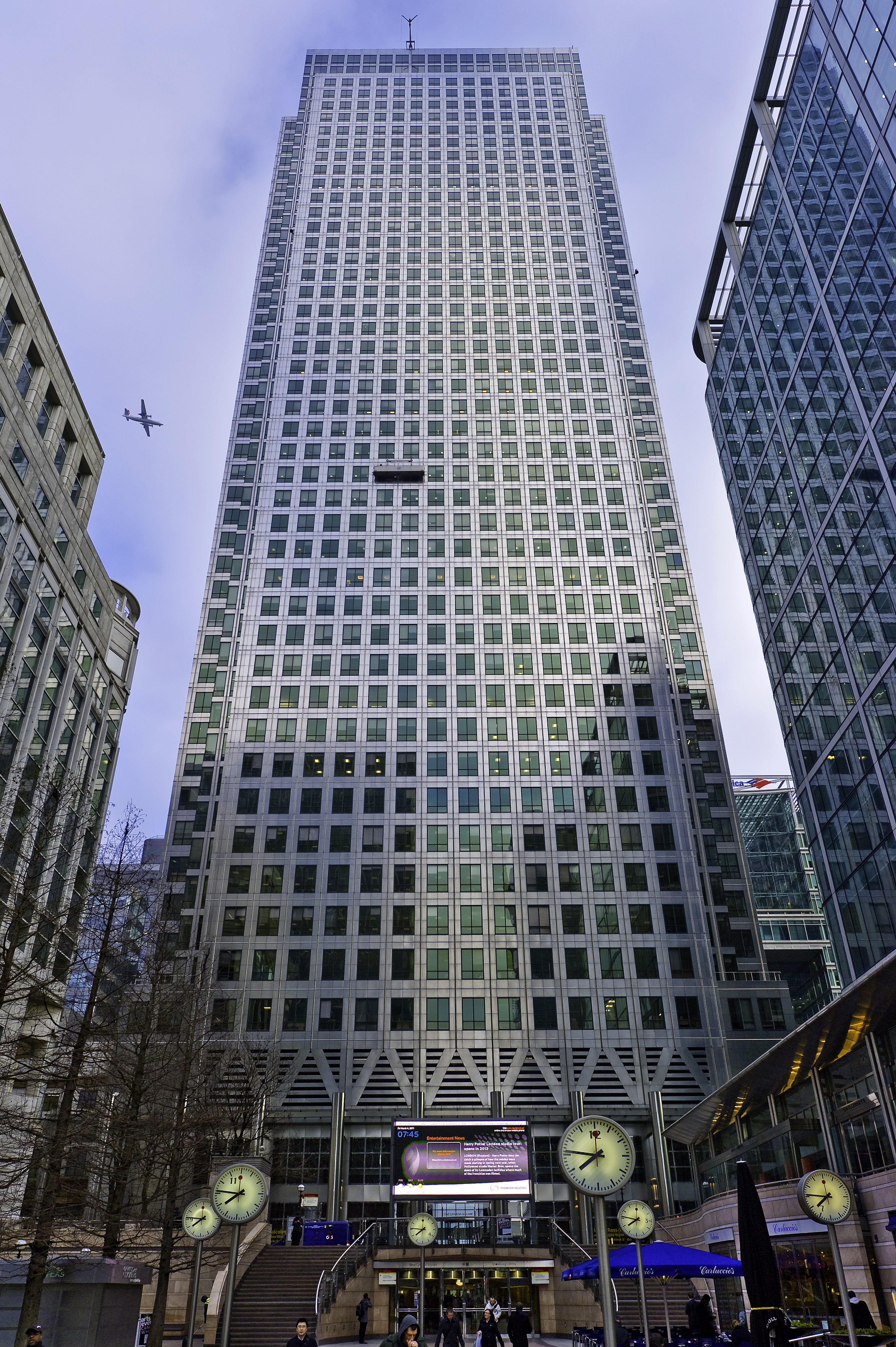 Serviced office London, E14 5DY - 1 Canada Square