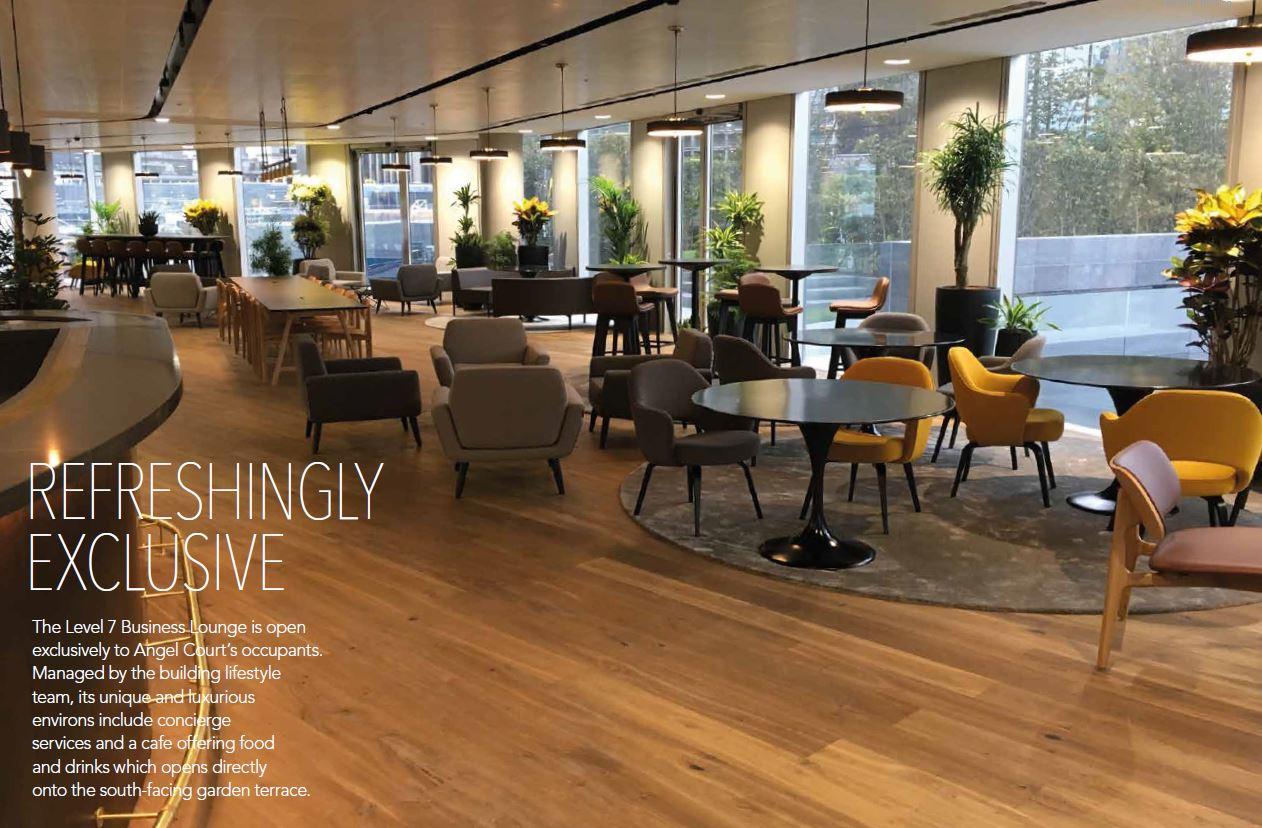 Office London, EC2R 7EQ - One Angel Court