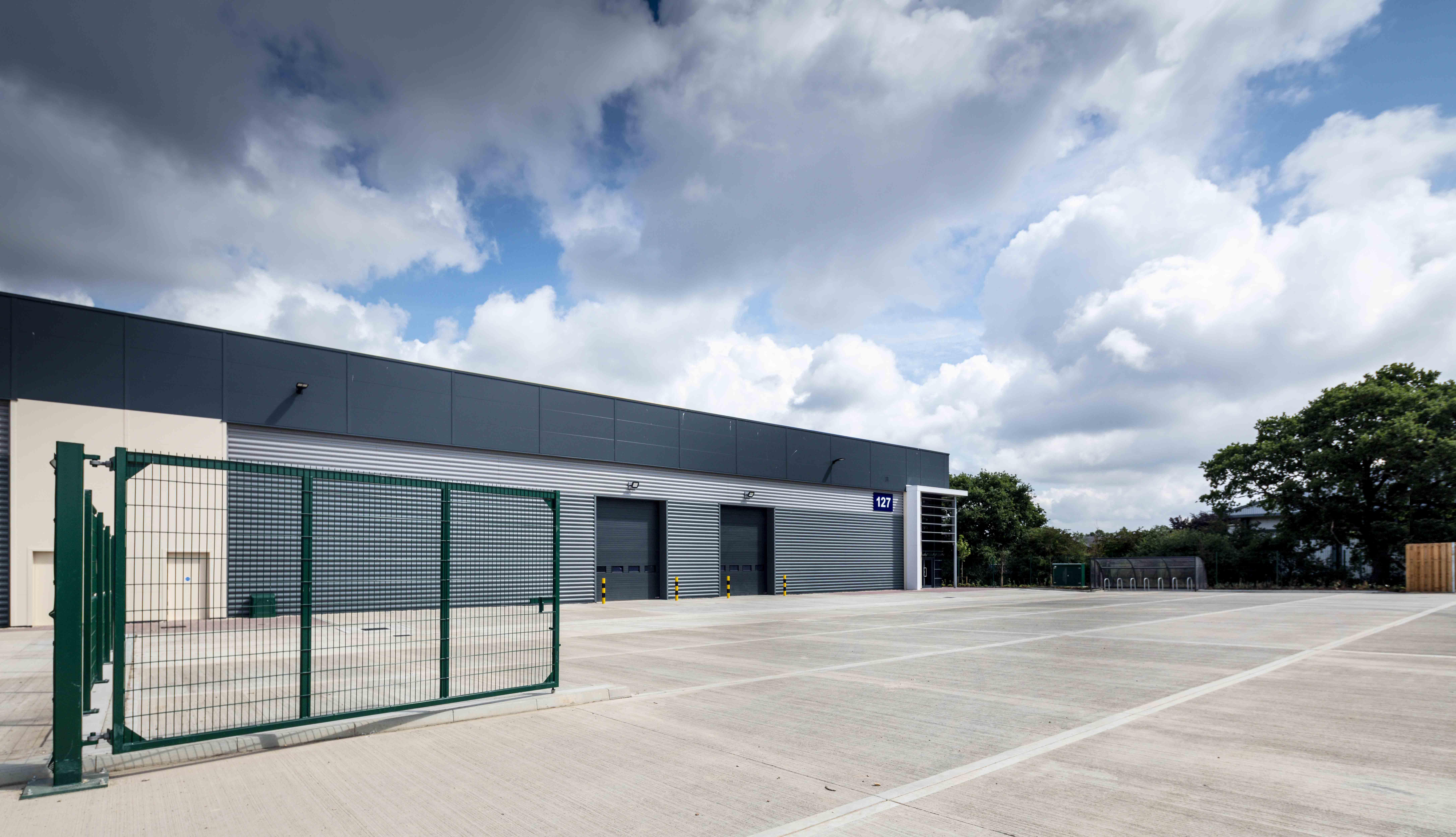 Industrial Waterlooville, PO7 3AP - Proxima Park, Design & Build Phase