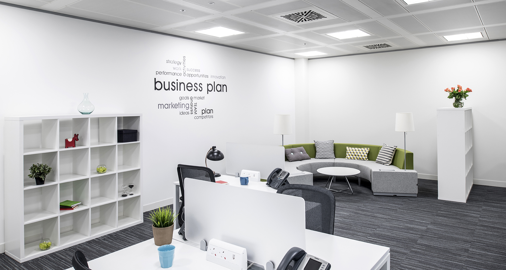 Serviced office London, EC2M 2QS - 1-2 Broadgate