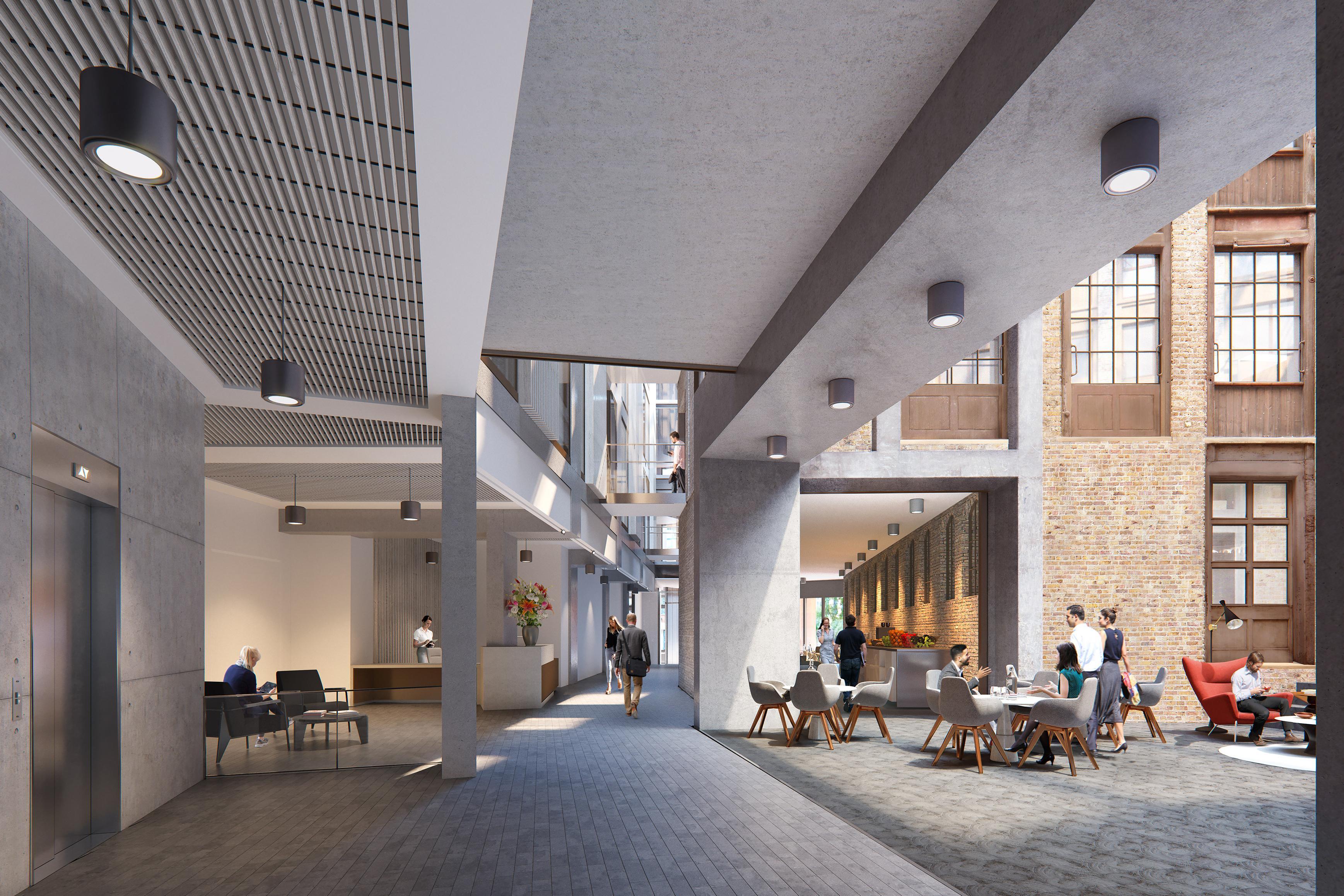 Office London, EC1M 4AZ - Farmiloe Building