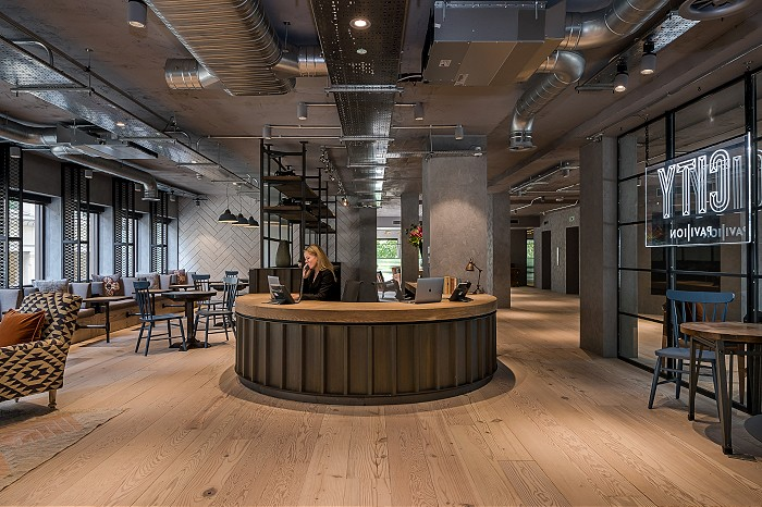 Serviced office London, EC4R 0AN - Cannon Green Building