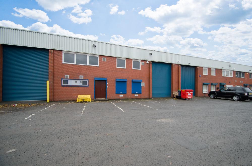 Industrial Glasgow, G41 1SB - Milnpark Trading Estate