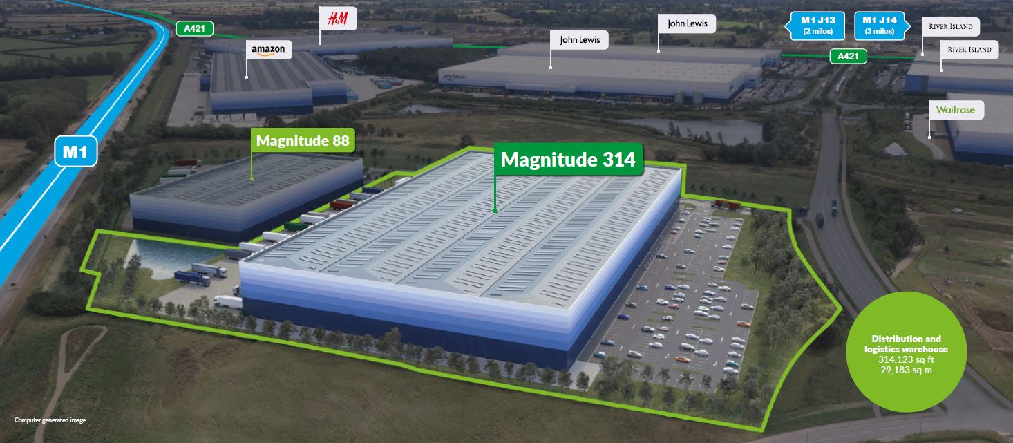 Industrial Milton keynes, MK17 8EW - Magnitude 314
