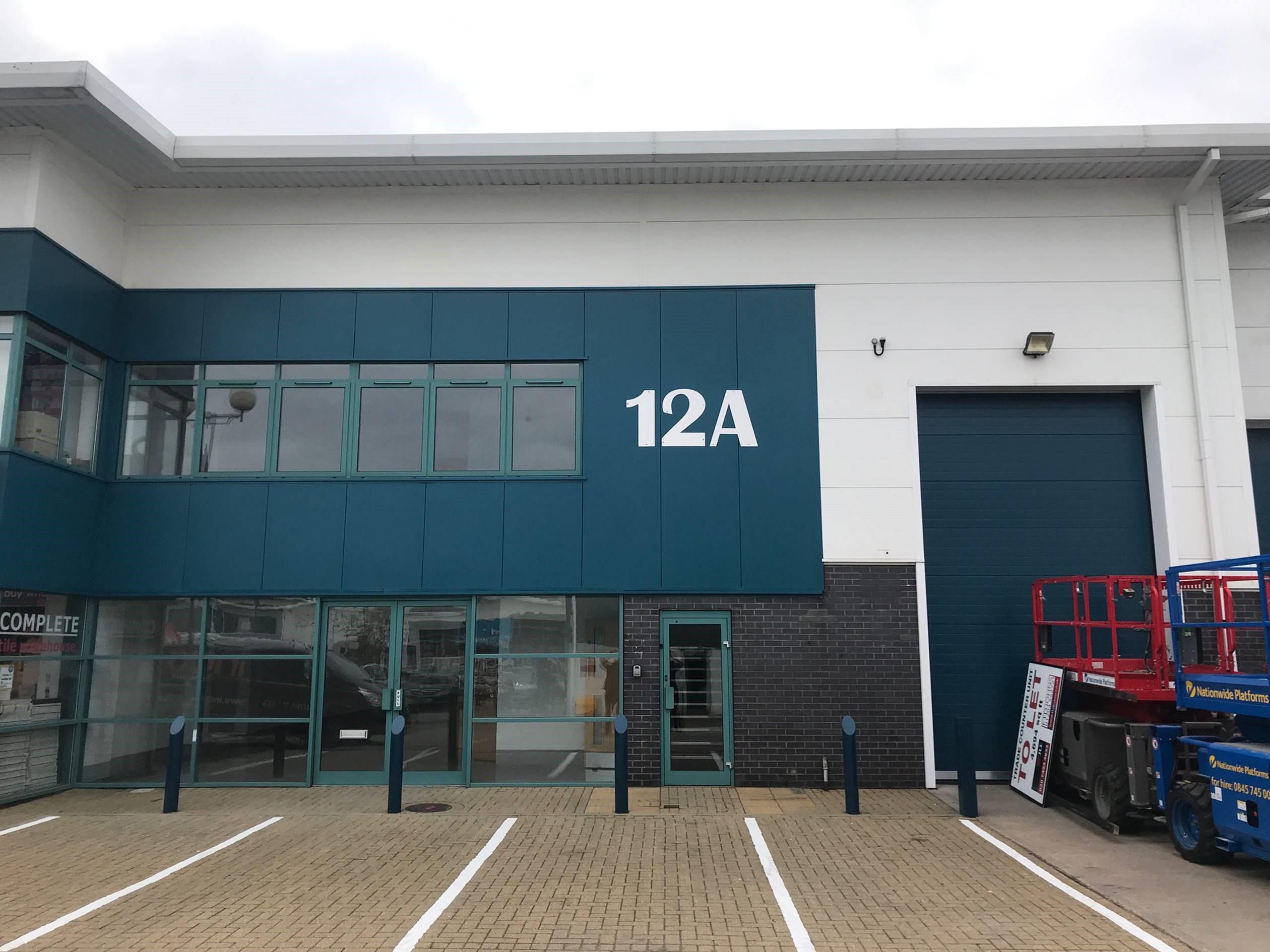 Industrial Crawley, RH10 1SS - Unit 12A, Denvale Trade Park