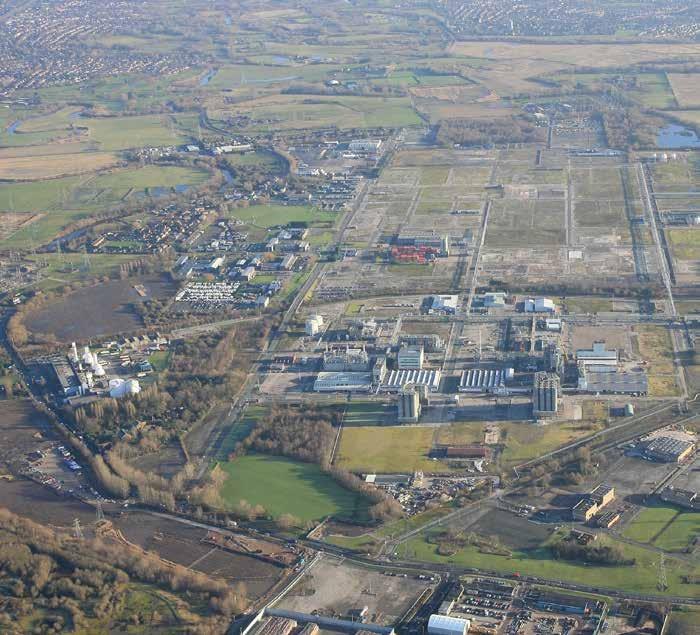 Industrial Manchester, M31 4DD - Future Carrington