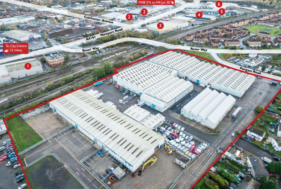 Industrial Cardiff, CF24 2RZ - Unit 3 St Catherine's Park