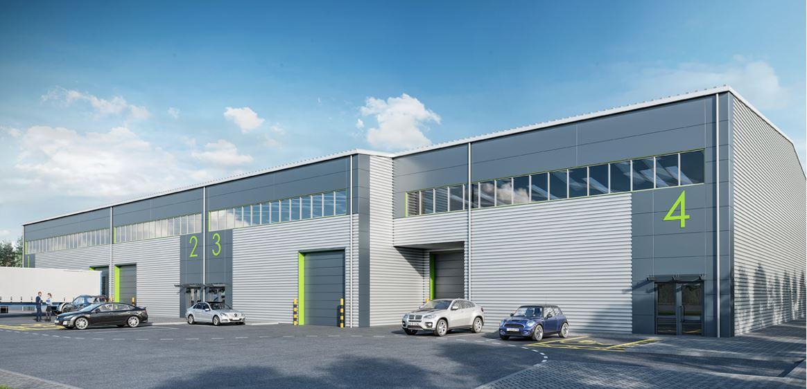 Industrial Chertsey, KT16 9LL - Chertsey Business Park