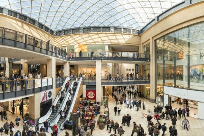 Retail shopping centre Cambridge, CB2 3BJ - Grand Arcade