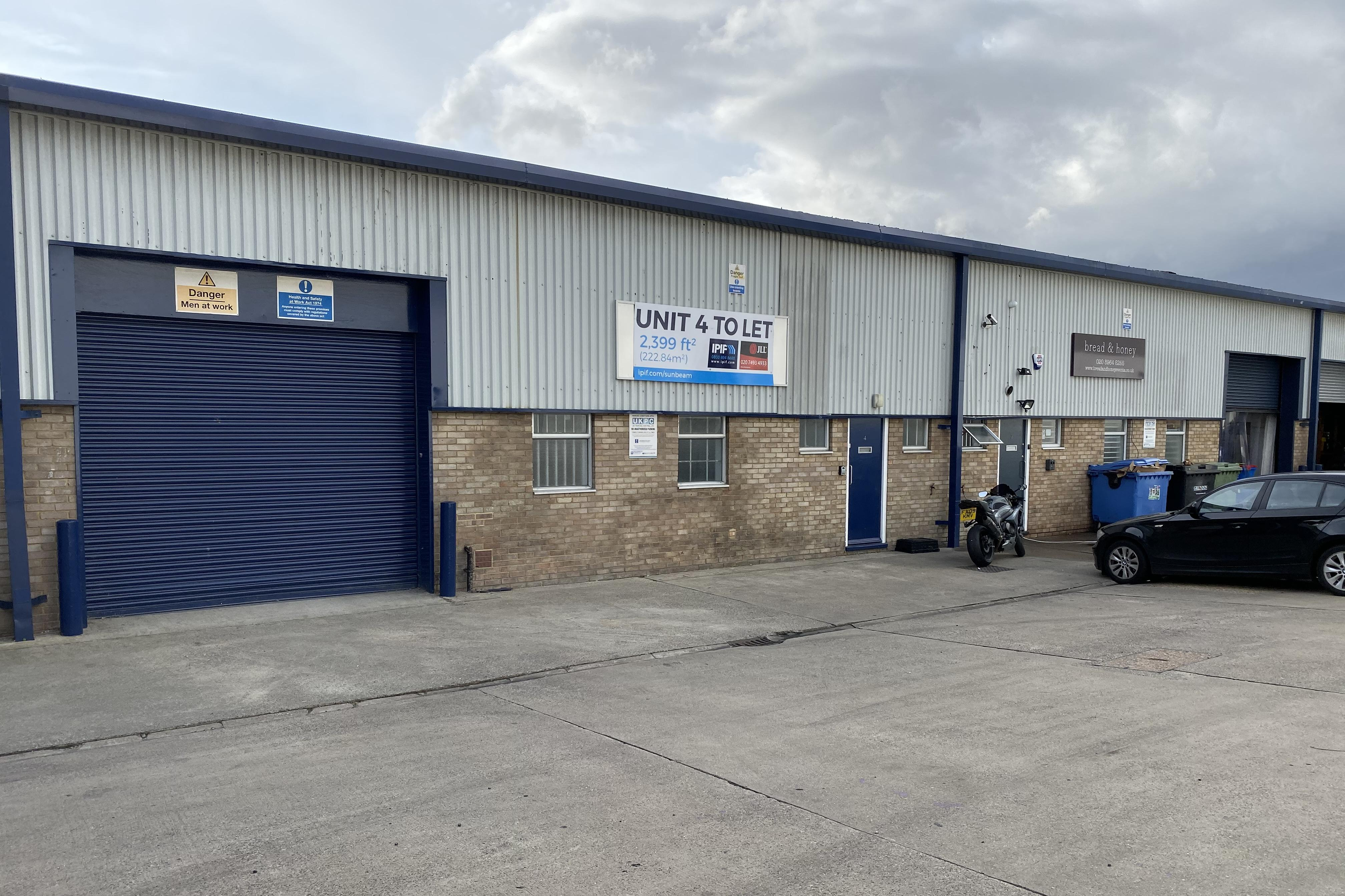 Industrial Park royal, NW10 6JP - Unit 4, Sunbeam Industrial Estate