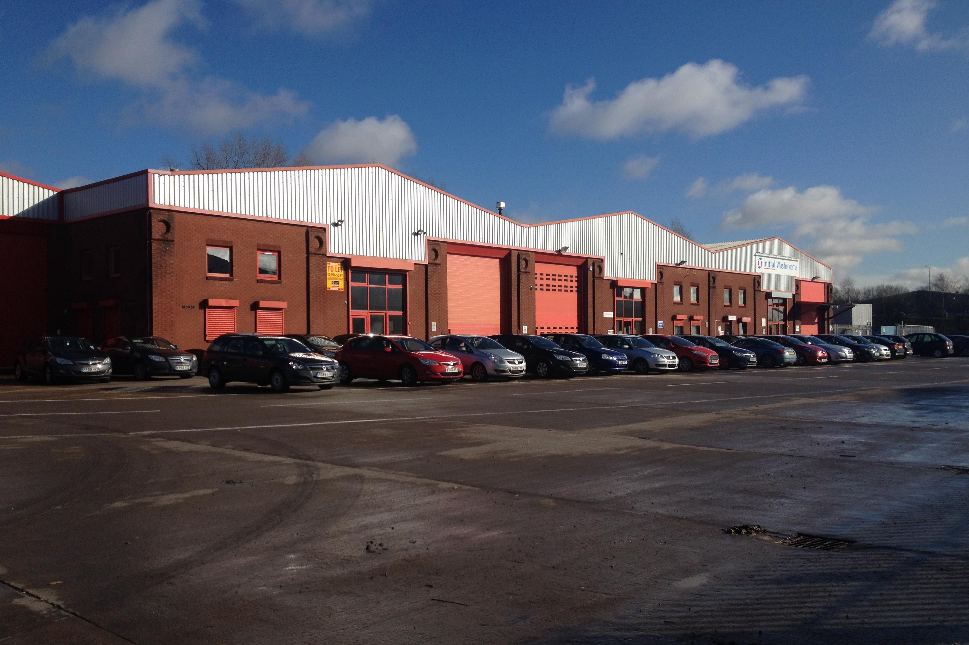 Industrial Coatbridge, ML5 4RP - M8 Interlink