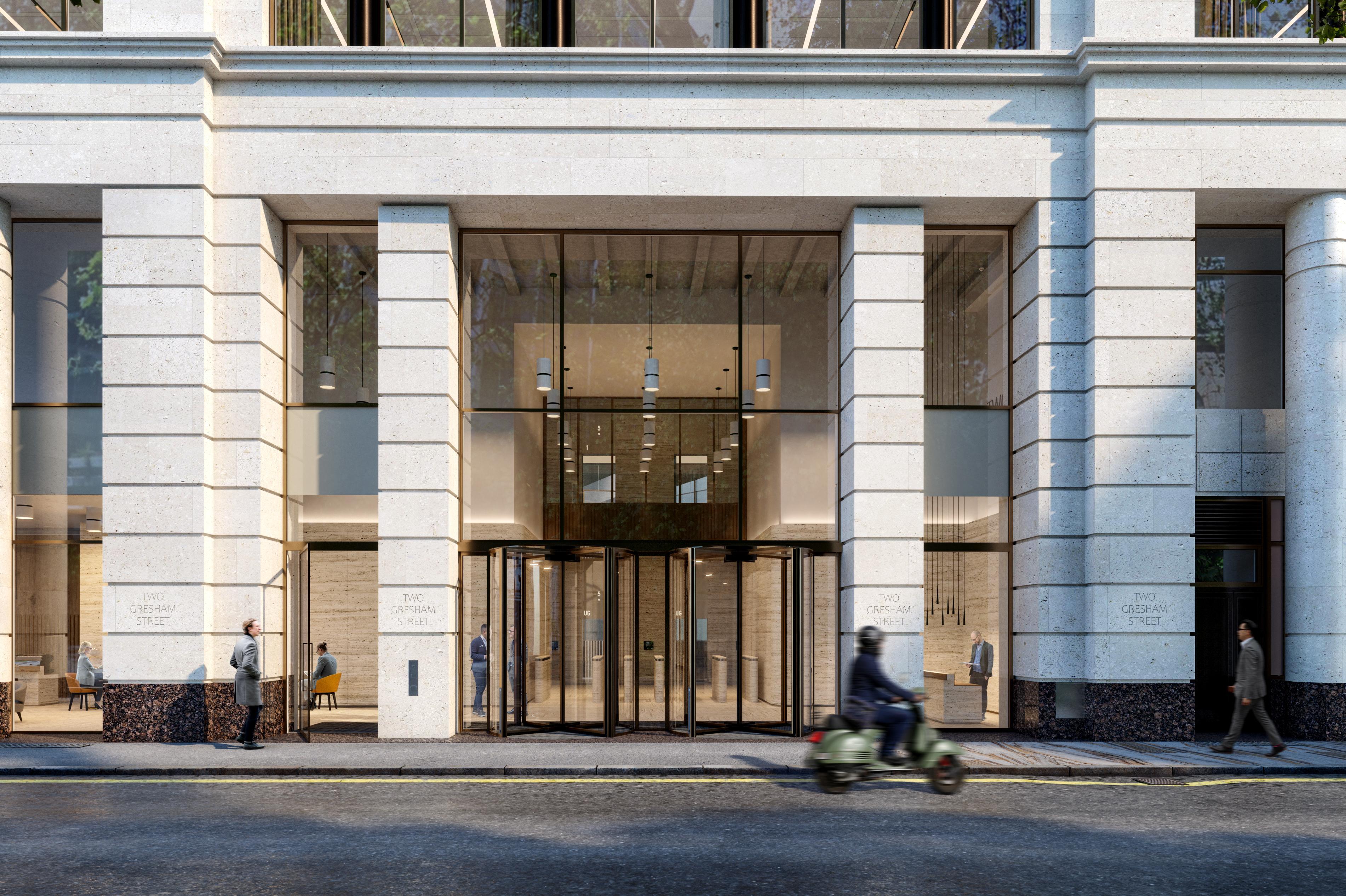 Office London, EC2V 7QP - 2 Gresham Street