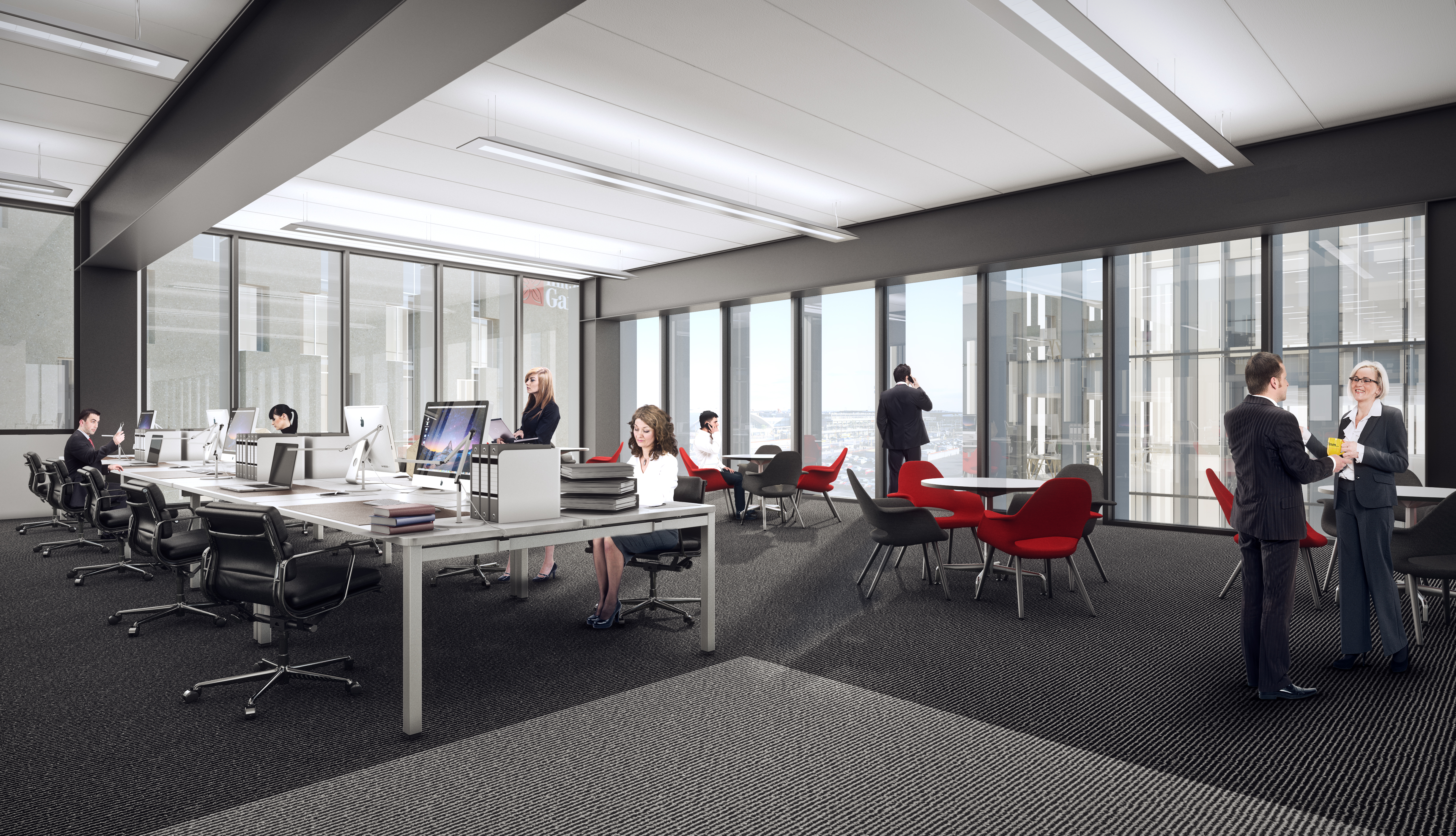 Office Manchester, M90 1QX - Airport City