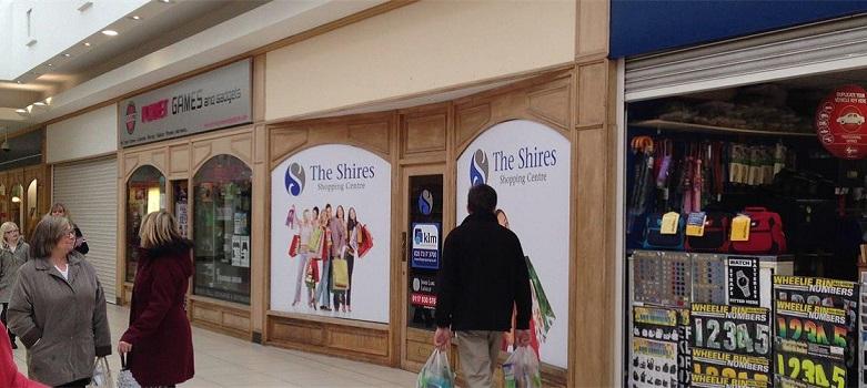 Retail shopping centre Trowbridge, BA14 8AT - Unit 19 The Shires