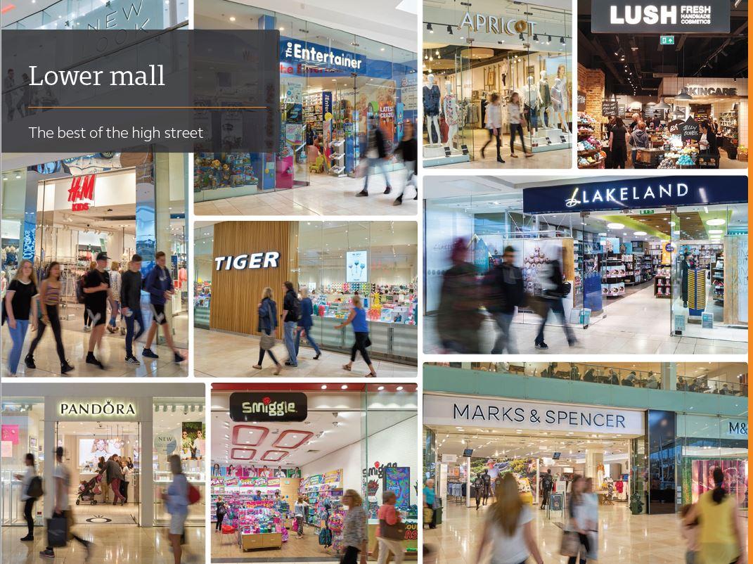 Retail shopping centre Derby, DE1 2PL - Intu Derby