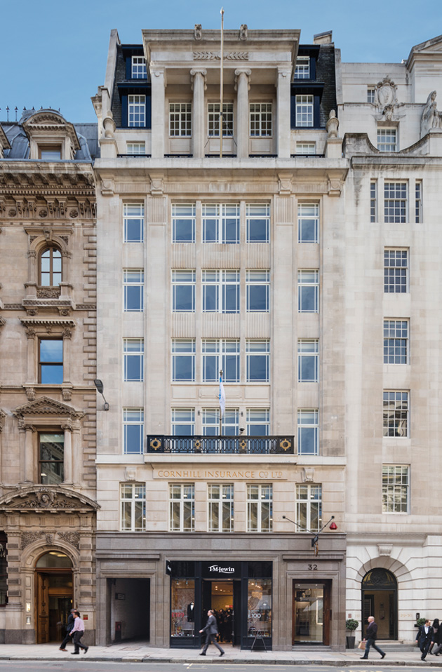 Office London, EC3V 3SG - 32 Cornhill