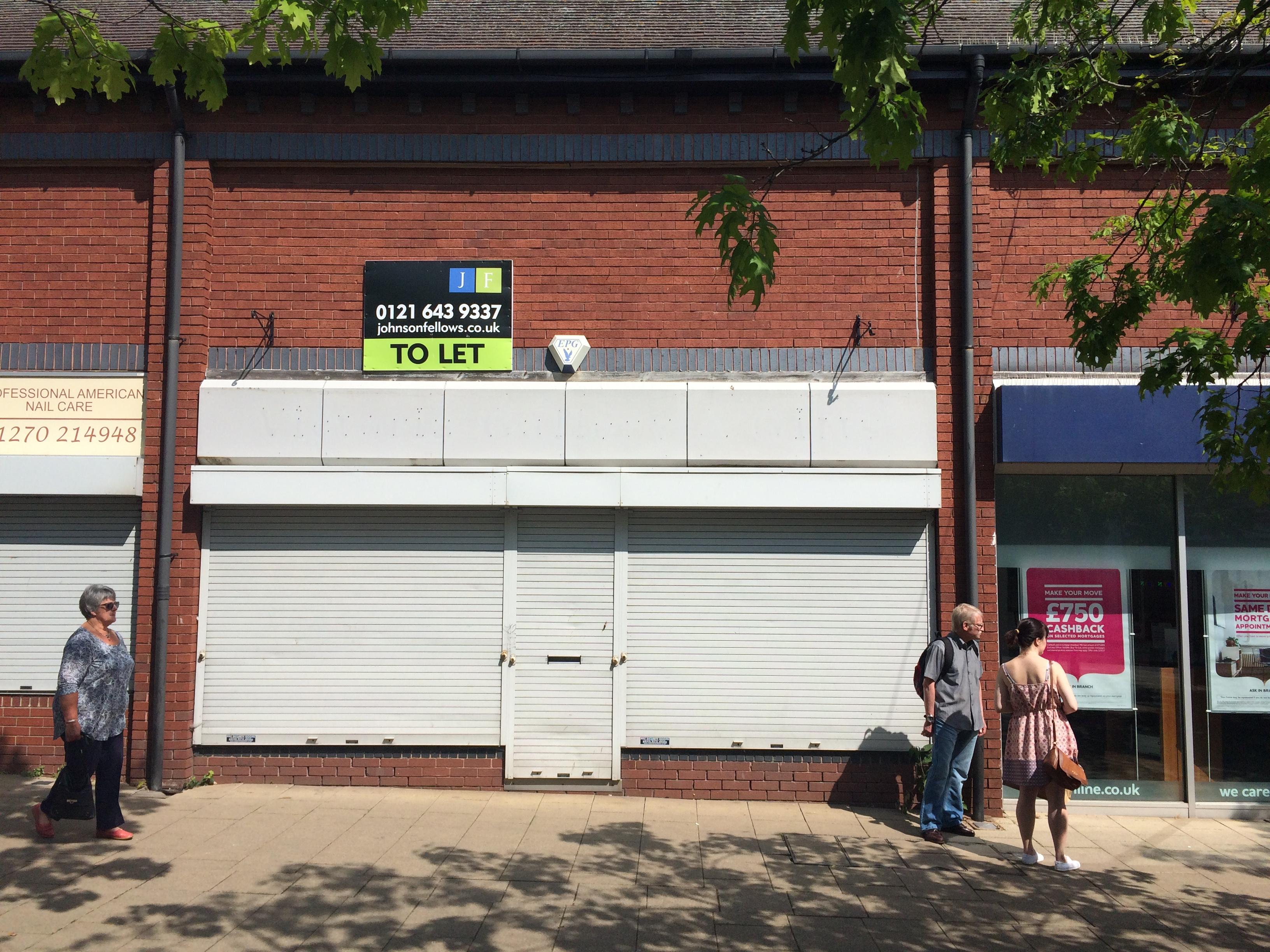 Retail shopping centre Crewe, CW1 2JG - Unit 43 Victoria Centre