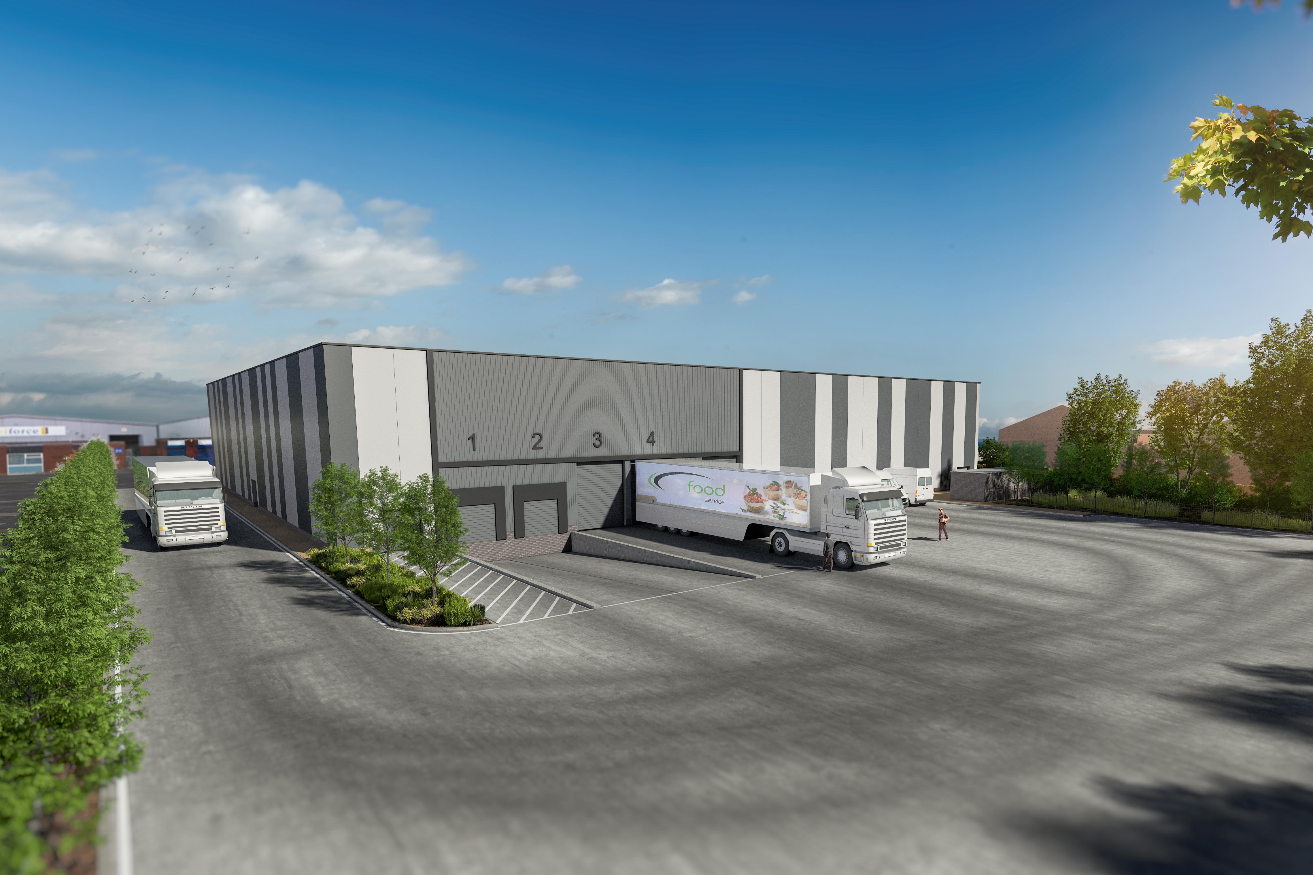 Industrial Birmingham, B24 0RD - Erdington 42