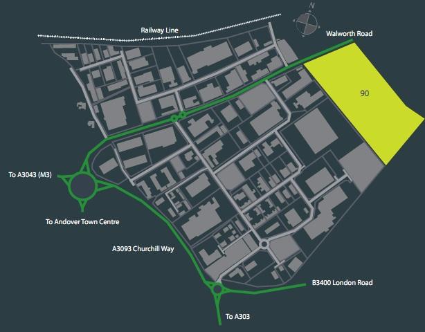 Industrial Andover, SP10 5LH - Logistics City Andover