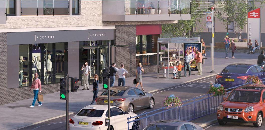 Retail high street Twickenham, TW1 1BD - Unit B