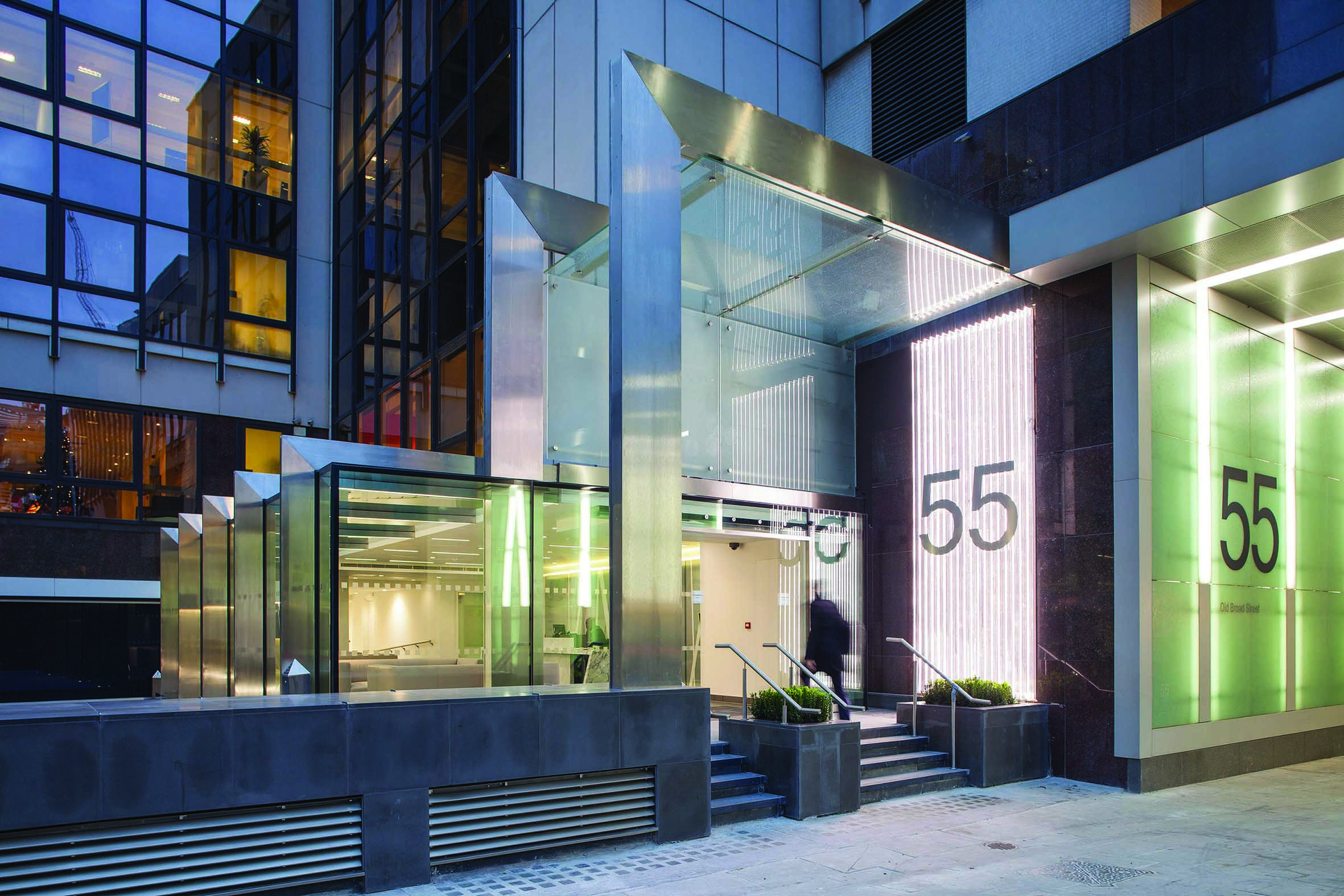 Office London, EC2M 1RX - 55 Old Broad Street