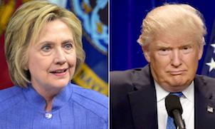 Clinton+vs+trump