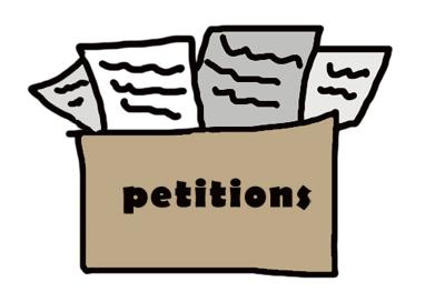 Image result for petitions available clipart