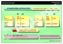 Werkwoordspelling Onregelmatige werkwoorden XL