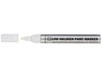 Low halogen paintmark med wit