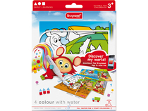 Colour with water set 4