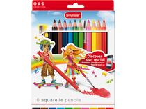 Aquarelle pencils set 10