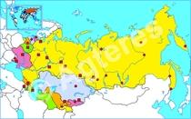 Voormalige Sovjet-Unie blind XXL