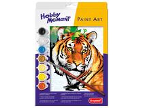 Paint art tijger