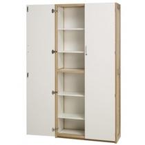 Kantoorkast met legplanken + optioneel lectuurlegplanken, kleur wit