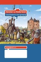 Leerdagboek groep 5 (5 stuks) Venster op Nederland